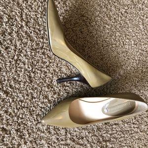 Paten leather heels - size 7.5